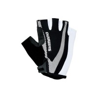 Перчатки Shimano Basic Race Black White