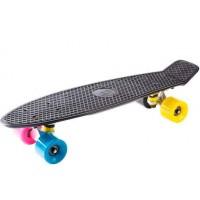 Мини скейт Fish Black