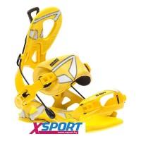 Крепление сноубордическое SP Core yellow 2016