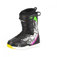 Ботинки сноубордические Trans Basic Girl Black/Pink