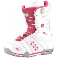 Ботинки для сноуборда Trans Rider White/Pink