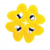 Наклейки противоскользящие love yellow
