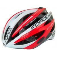 Велошлем Force Road Pro Junior Wht-red