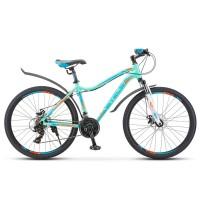 Велосипед горный женский Stels Miss 6000 голубой